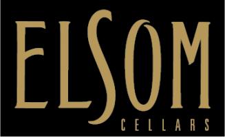 Elsom Gold Logo on black